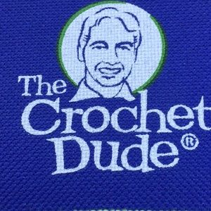 The Crochet Dude set of crochet hooks, nearly new